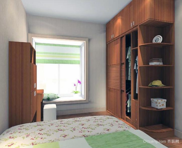欧式大户型卧室衣柜设计装修效果图