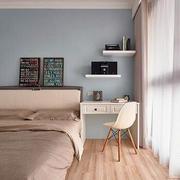 90平米简约欧式卧室设计