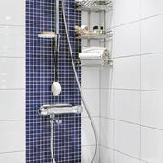 90平米家居白色卫生间背景墙设计