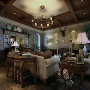 大户型设计合理的客厅图