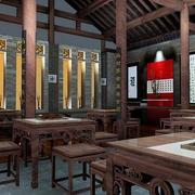 中式风格茶馆设计图片