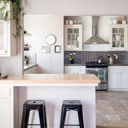 小户型厨房吧台效果图