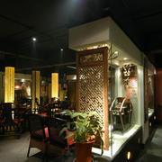 清淡型茶馆设计图片