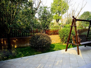 别墅庭院吊椅设计