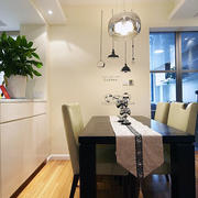 欧式复式楼简约款式餐厅设计