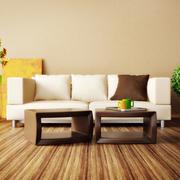 暖色调沙发设计图片