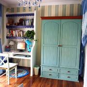室内开放式小书房