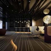 咖啡厅地板砖造型图
