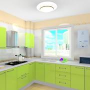 清新型厨房设计图片