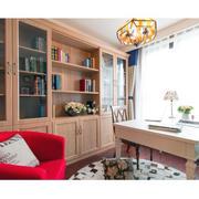 欧式宜家红色沙发设计