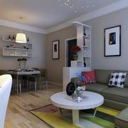 大型客厅简约风格架子设计