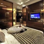 三室两厅卧室电视背景墙设计