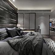 后现代深色理性卧室装饰