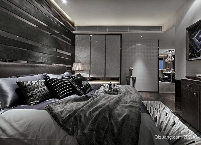 后现代风格三室两厅房屋装修效果图