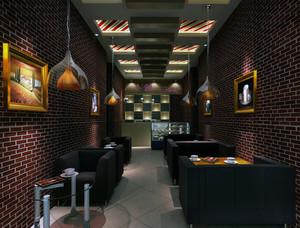 咖啡厅灯光设计图