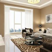 三室两厅简约飘窗装饰