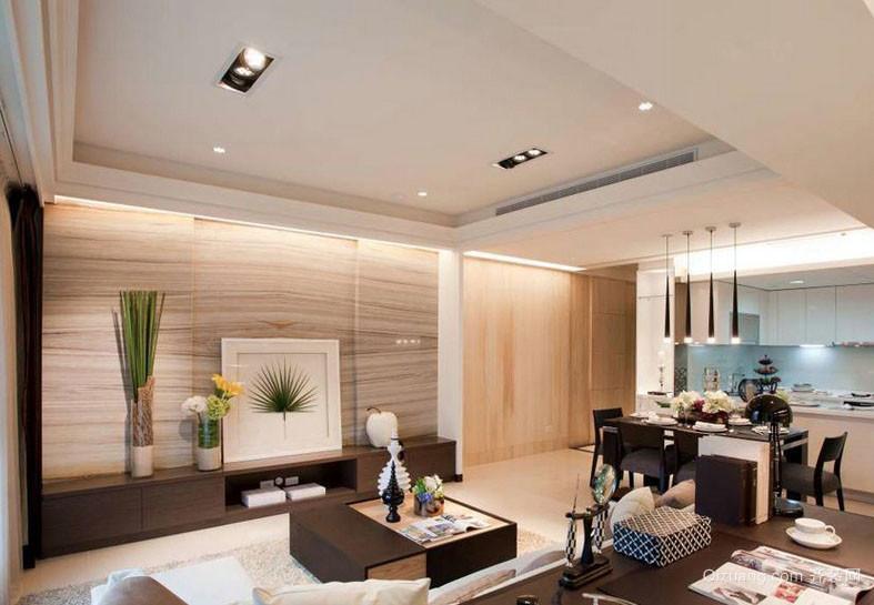 浅色系120平米家庭室内设计效果图大全