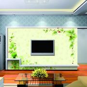 清新绿色电视壁画
