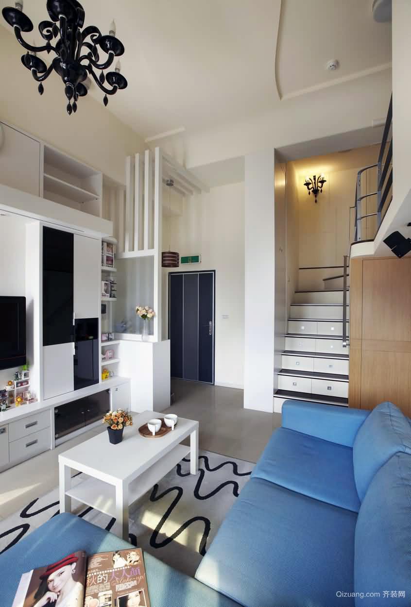 102平米小型欧式新款别墅空间装修图例