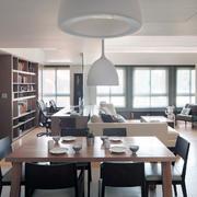 精简系列复式楼餐桌设计