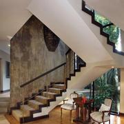 轻工业风格别墅楼梯