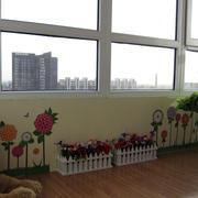 阳台壁画图片欣赏