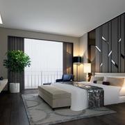 精致的卧室整体造型