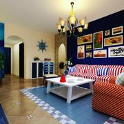 室内沙发背景墙图