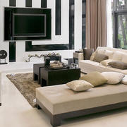 灰色调沙发设计图片