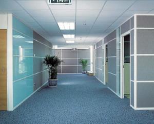 潮流样式办公室隔断效果图