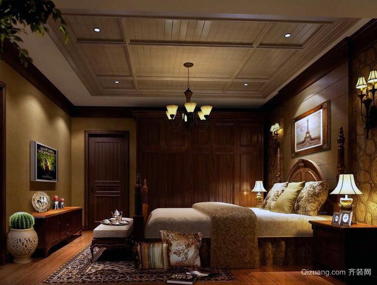 现代欧式小户型卧室装修设计效果图