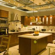 美式厨房整体橱柜装饰