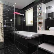 三室两厅后现代风格客厅卫生间装修