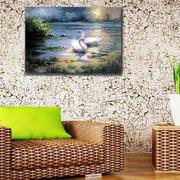 沙发背景墙壁画