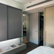 卧室精简系列样板间复式楼设计