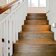 实木安全温暖楼梯