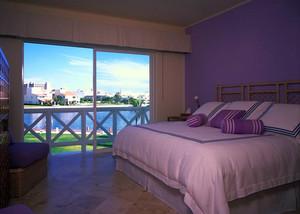现代简约紫色系房间装饰