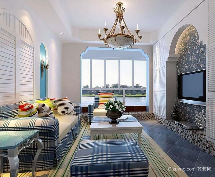 大户型地中海风格室内设计装修图片