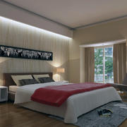暖色调室内灯光设计