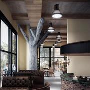 精美的咖啡厅造型图