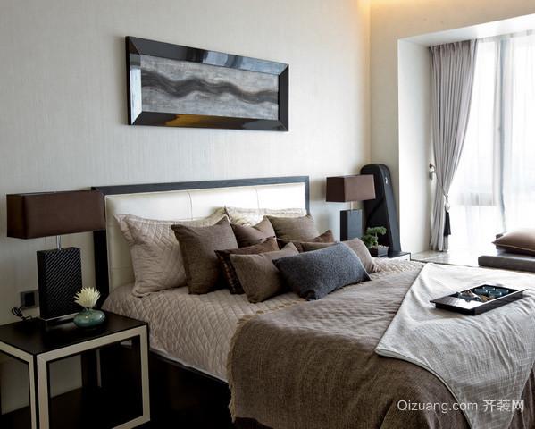 2015现代简约风格时尚卧室装修效果图