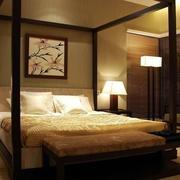 暖色系卧室灯光设计