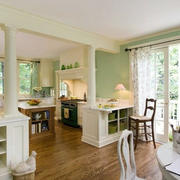美式别墅混搭风格厨房