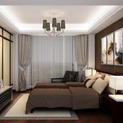 后现代风格房间背景墙效果图