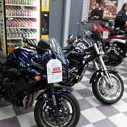 创意型摩托车店面