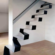 个性十足的铁艺楼梯