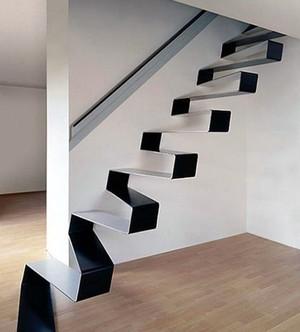 创意十足的阁楼楼梯装修效果图