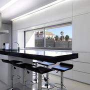 灰色调厨房设计图片