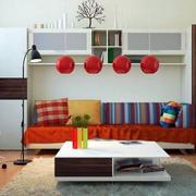置物柜一体式沙发设计