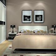 卧室简约风格床头灯饰设计